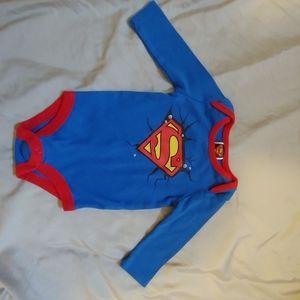 Baby's Superman onsie